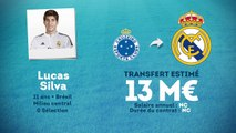 Officiel : Lucas Silva signe au Real Madrid !