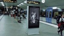 İsveç'te kanserli çocuklara dikkat çekmek için yapılmış mükemmel bir reklam