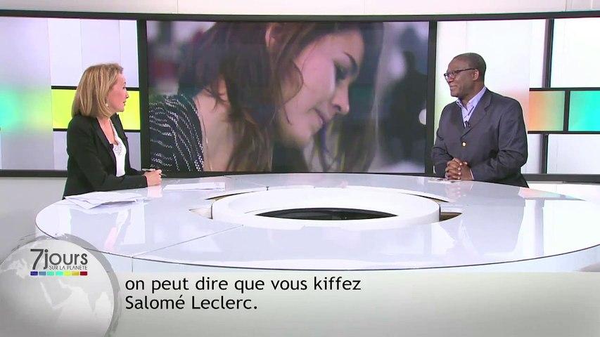 Salomé Leclerc - Chronique Christian Éboulé