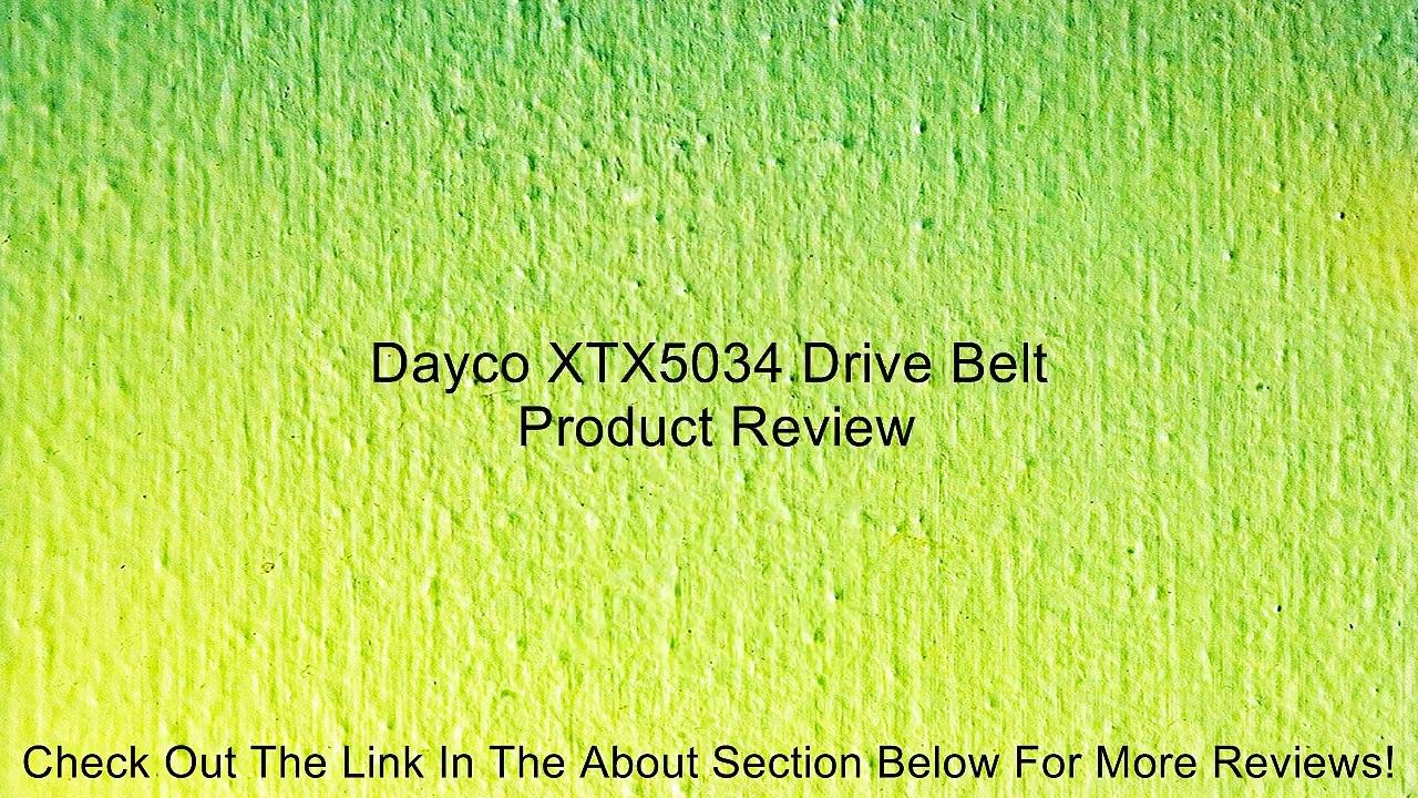 Dayco XTX5034 Drive Belt