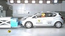 Yeni Opel Corsa EuroNCAP çarpışma-güvenlik testi