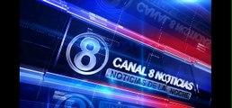 12/08/2014: Canal 8 Noticias - Las Noticias de el Noche