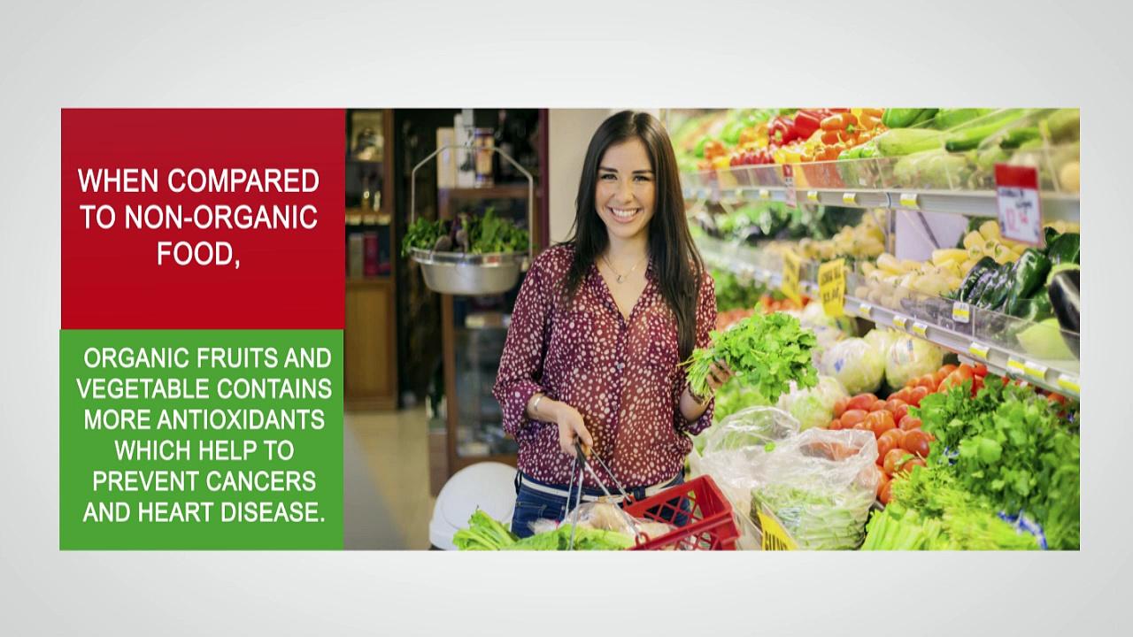 Various Health Benefits of Organic Food