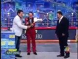 Luis Luiz Ricardo Pega Fogo ao Vivo no Ratinho Cenas Fortes 09/12/2014