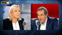 Marine Le Pen justifie l'usage de la torture