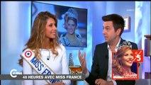 Quand les joueurs de l'US Ivry rencontrent Miss France (C à Vous)