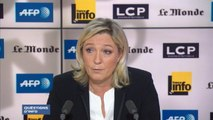 """Marine Le Pen : """"La France n'a pas recours à la torture et c'est très heureux"""""""