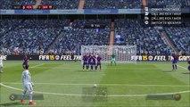 But sur coup-franc en coup du foulard de Cristiano Ronaldo sur Fifa 15