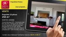 A vendre - propriété - NANTES (44000) - 10 pièces - 250m²