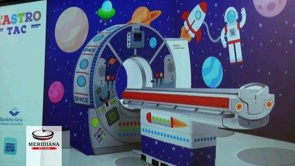 """Al Bambino Gesù sta atterrando l'AstroTac, macchinario per un """"Ospedale senza dolore"""""""