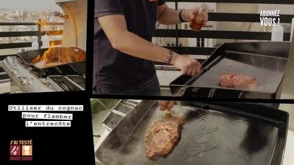 Test Plancha Forge Adour et Comme à la boucherie.com - Entrecôte