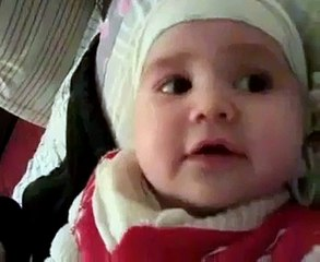 4 Months Baby Reciting Kalma - MashAllah Very Beautiful Video