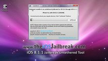 iOS Evasion 8.1.2 Jailbreak Untethered pour iPhone, iPad, iPod Touch