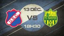 Samedi 13 Décembre à 18h30 - US Concarneau - FC Nantes (b) - CFA D