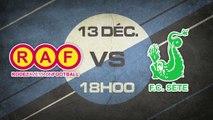Samedi 13 Décembre à 18h00 - Rodez AF - FC Sète - CFA C