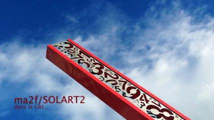 SOLART2 dans le ciel