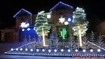 Il synchronise ses illuminations de Noël avec la musique de la Reine des Neiges