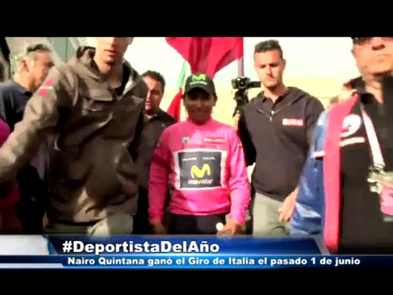 Nairo Quintana, el Deportista del Año 2014