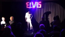 Taylor Rodriguez talking about Elvis singing Hound Dog at Sheffield Remembers 2013 video