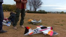 Close range 3D aerobatic RC flight with advance maneuverabilit