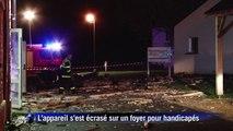 Accident d'avion près de Tours: 1 mort, 5 blessés