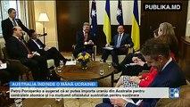 Australia vrea să ajute Ucraina să scape de dependenţa energetică faţă de Rusia.  Întreaga lume susţine Ucraina, iar Rusia rămâne în izolare. Sutele de milioane de dolari pentru războiul informaţional nu ajută la nimic.