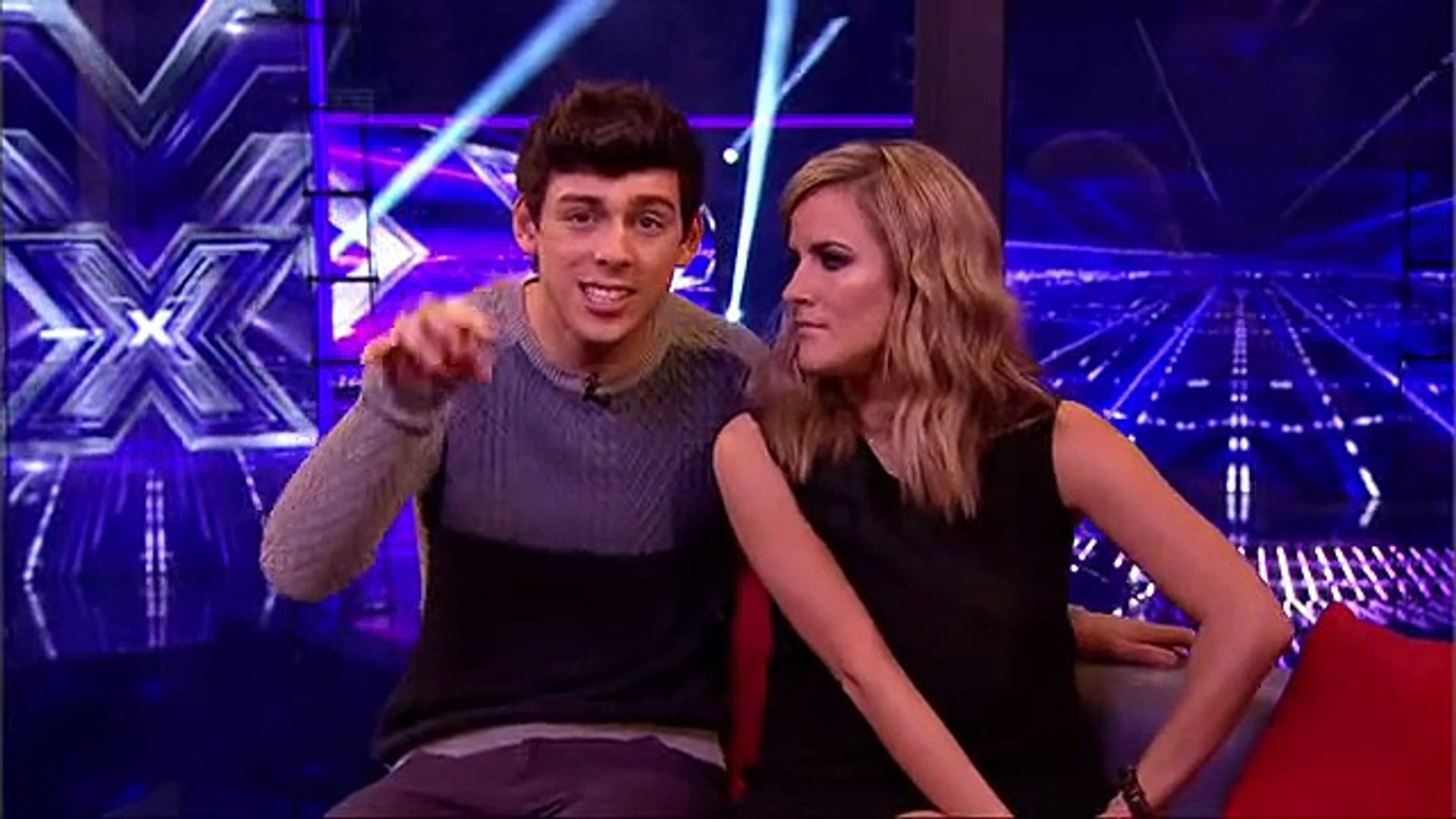 Louis Walsh reveals far too much to Matt - Live Week 7 - The Xtra Factor 2013 - Official Channel