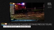 Indre-et-Loire : les images du lieu du crash de l'avion de chasse