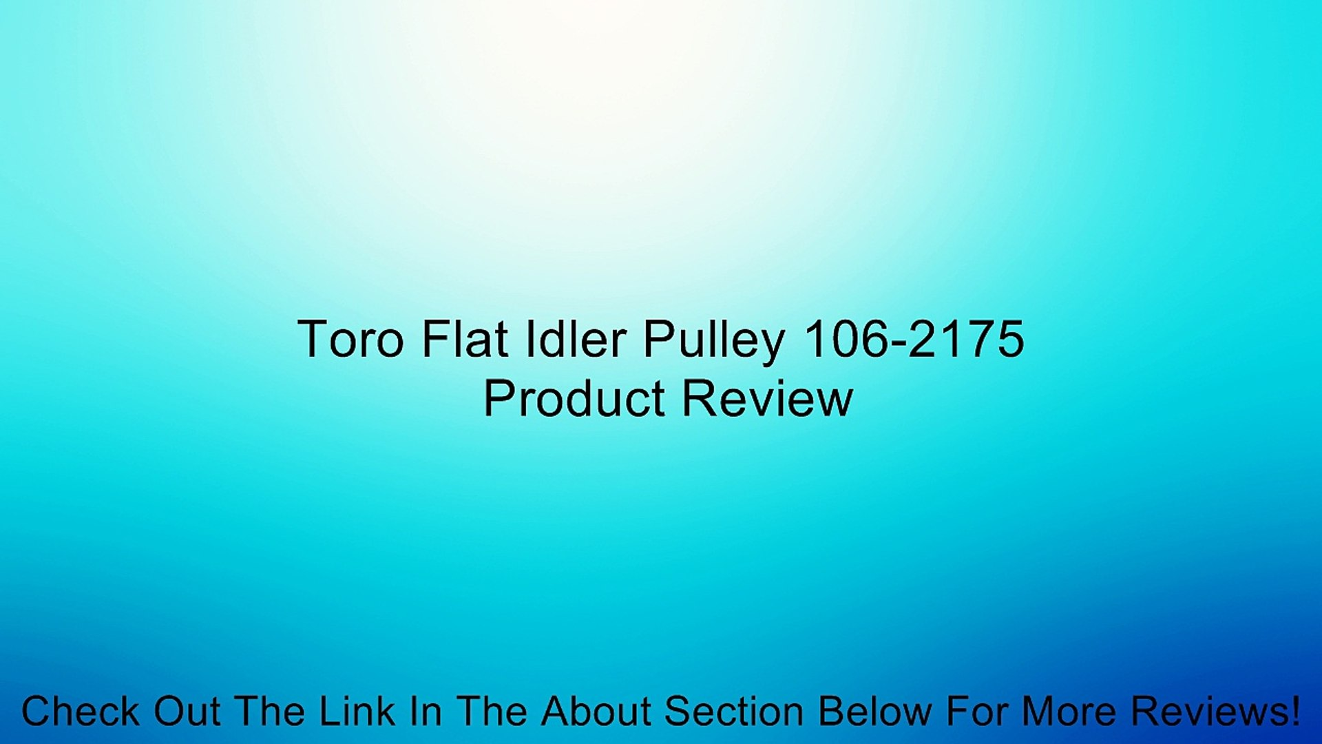 GE WE12X81 Idler Pulley for Dryers Using Ribbed Po
