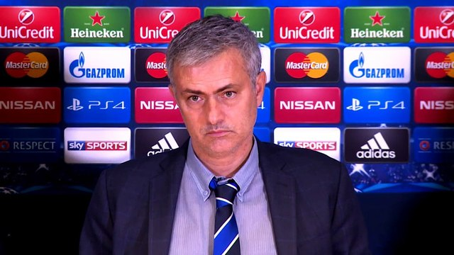 Mourinho jokes about swimming with sharks