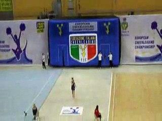 Cheerleading Europe Rimini Flash 2013
