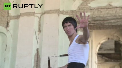 Afghanistan: Kung Fu Fighting! Meet the Afghan BRUCE LEE