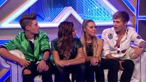 Only The Youngs Exit Chat  Live Week 7  The Xtra Factor UK 2014-Official Channel