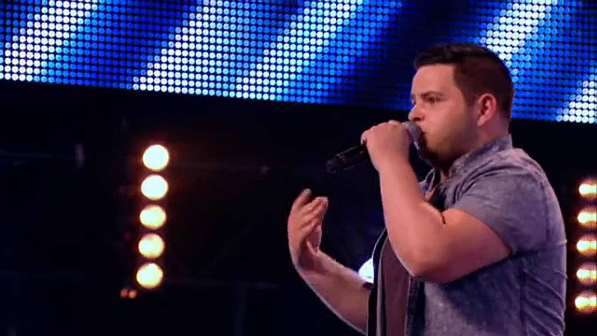 Paul Akister sings A Song For You by Christina -- Arena Auditions Week 4 -- The X Factor 2013 -Offic