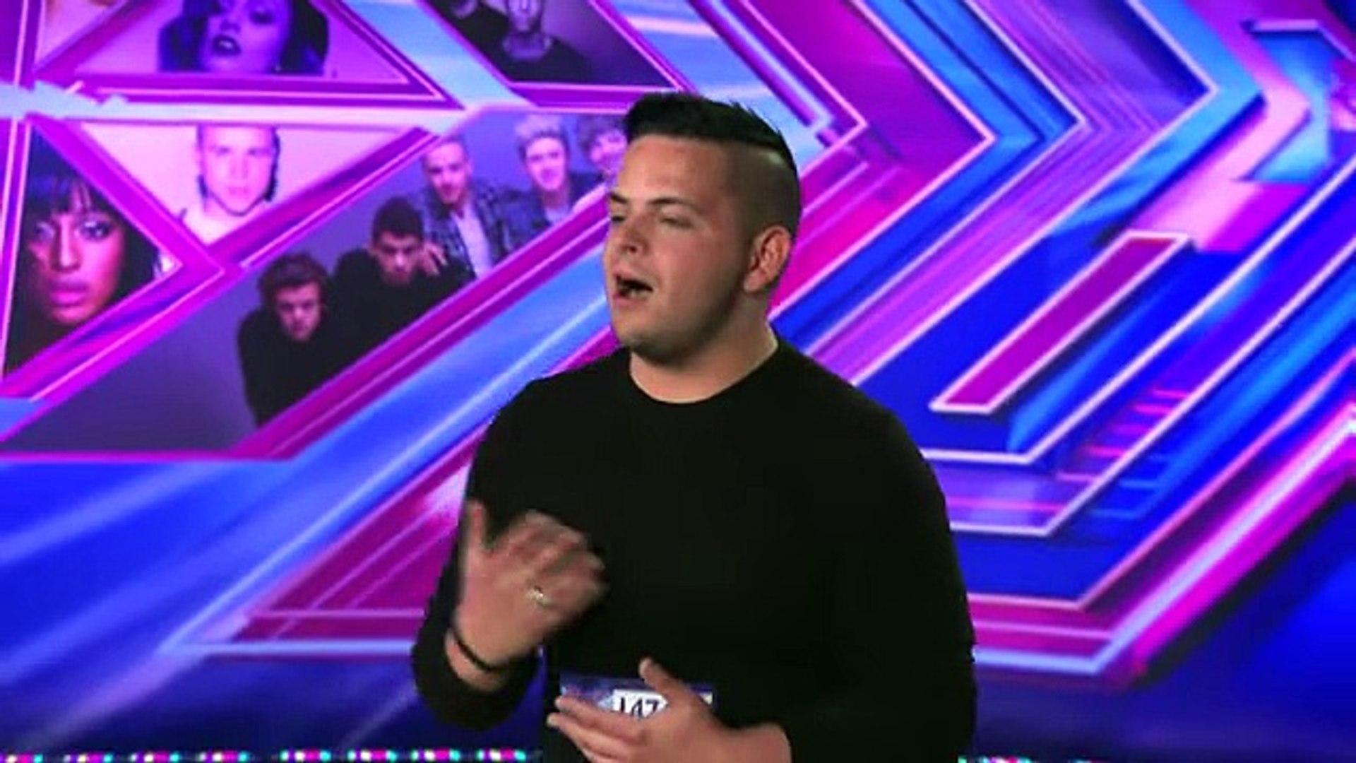 Paul Akister sings Jealous Guy by John Lennon - Room Auditions Week 2 - The X Factor UK 2014 -Offici