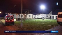 Enquête suite au crash d'un avion militaire sur un centre pour handicapés à Vouvray