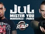 """Jul feat. Mister You """"Marseille-Paris"""" en live dans Planète Rap"""