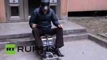 Une voiture miniature à Shanghai pour éviter les bouchons