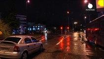 شلیک در برابر سفارت اسرائیل در آتن