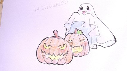 Illustration Halloween 1-5 : Fantôme
