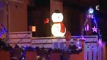 Illuminations guirlandes de Noël à Pignan