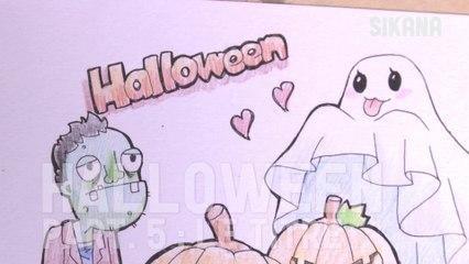 Illustration Halloween 5-5 : Titre