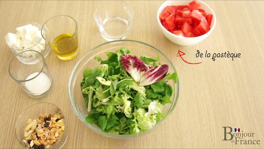 Salade de pasteque  - Apprendre le français grace à la cuisine