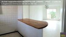 A vendre - appartement - MONTPELLIER (34000) - 2 pièces - 42m²