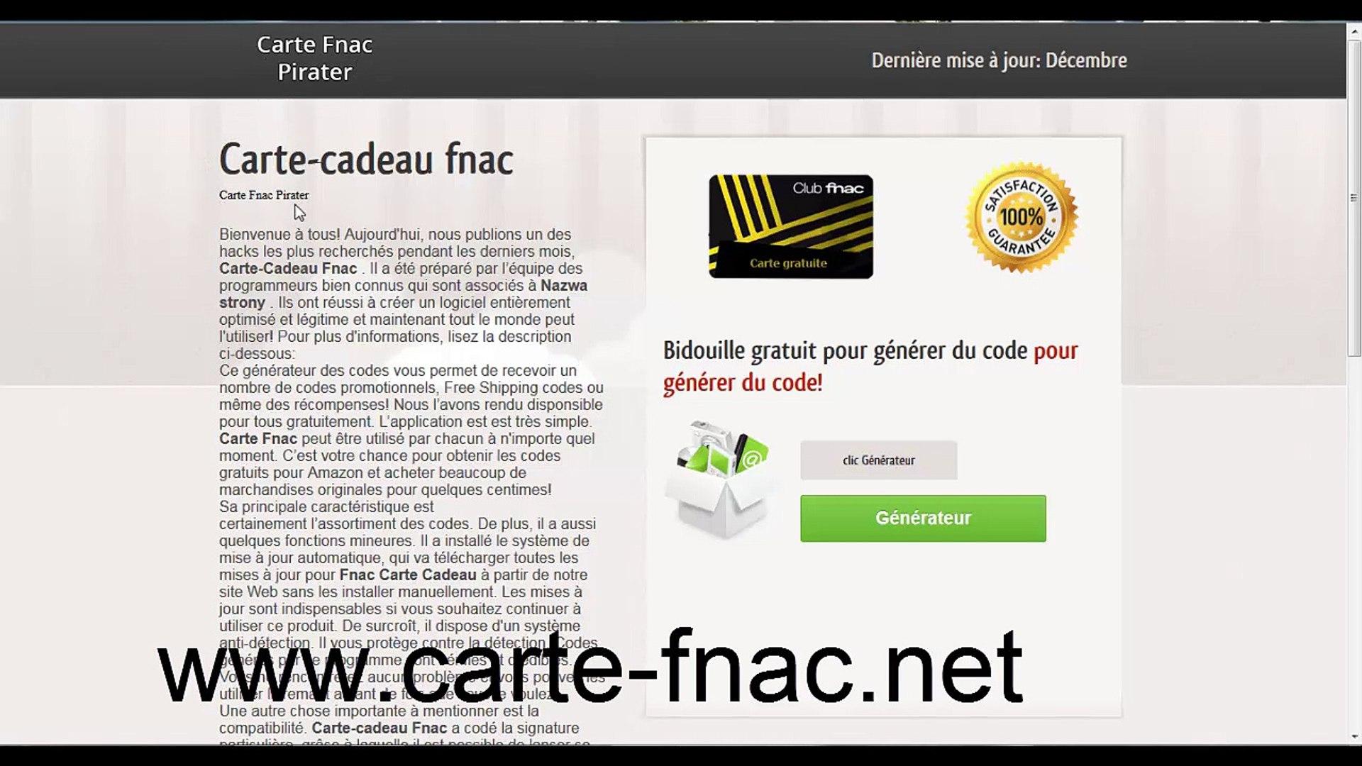 Carte American Express Gold Fnac.Carte Cadeau Fnac