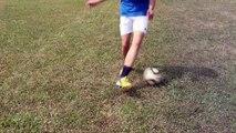 Top 5 Easy Football Skills To Learn Tutorial | Play Like Ronaldinho, CR7 and Zidane