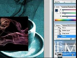 Cropping Smoke in Photoshop Urdu Tutorials