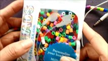 "DIY Beaded Earphones using ""My Beads"" Rainbow Loom Accessories + Loom Bands"