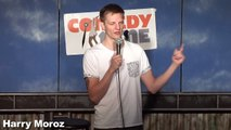 Stand Up Comedy by Harry Moroz - Unicycle Fail!
