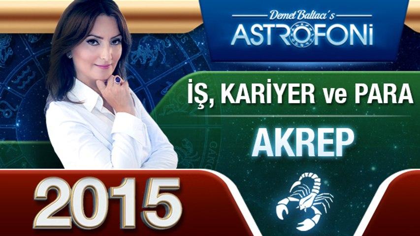 AKREP Burcu İŞ,PARA ve KARİYER 2015 astroloji, burç yorumu